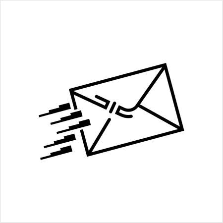 Mail Icon, E-Mail Icon Vector Art Illustration