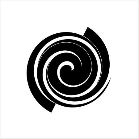 Spiral Design, Spiral Vector Art Illustration