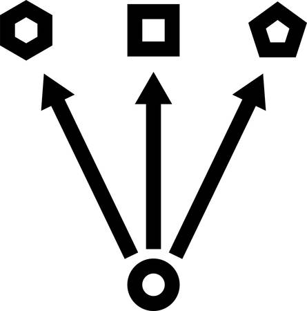Change Icon, Change Vector Art Illustration Stock Illustratie