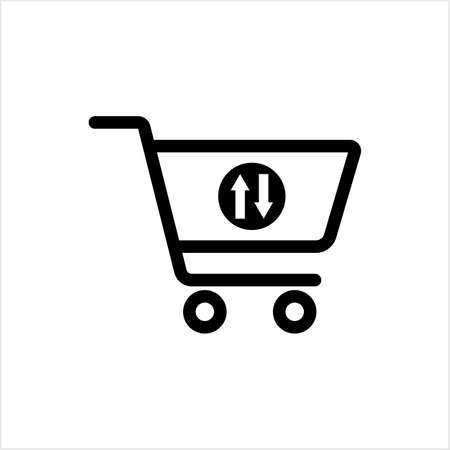 Shopping Cart Icon Design Vector Art Illustration