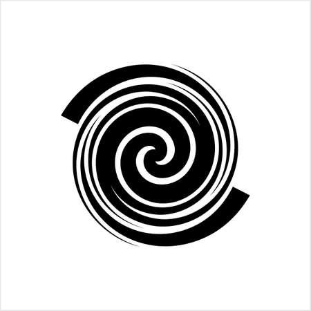 Spiral Design, Spiral Vector Art Illustration