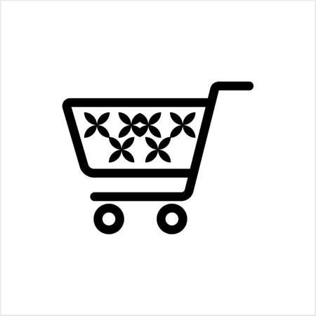 Shopping Cart Icon Design Vector Art Illustration