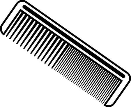 Hairbrush Icon, Comb Icon Vector Art Illustration Illustration