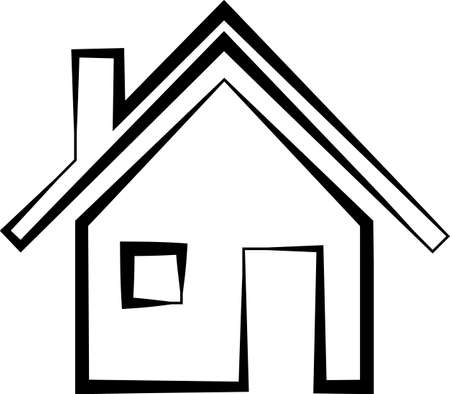 Home Icon, Home Vector Art Illustration