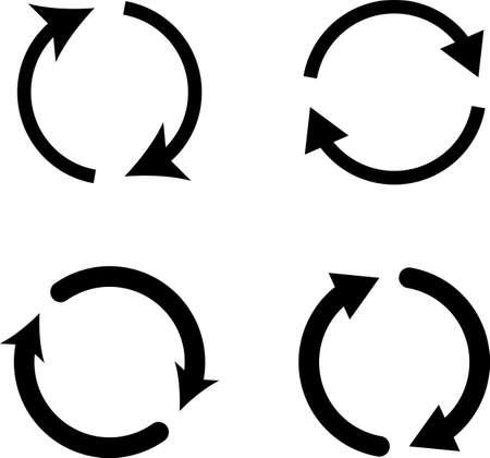 Change Icon, Change Vector Art Illustration Ilustrace
