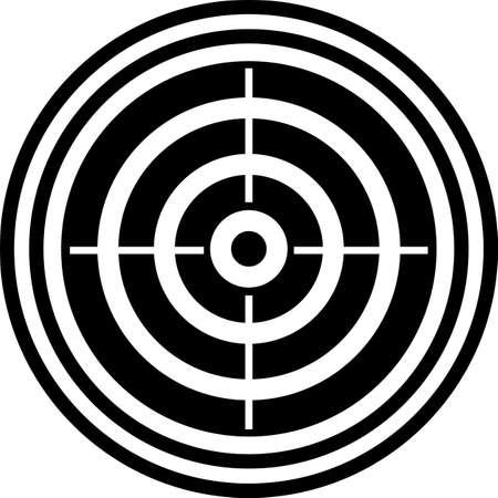 Target Icon, Target Board Vector Art Illustration 向量圖像