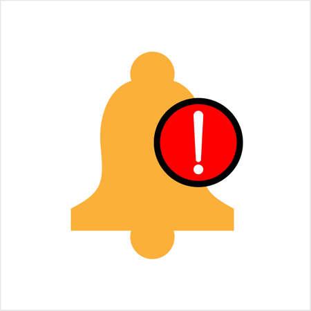 Alert Icon, Notification Icon Vector Art Illustration Illustration