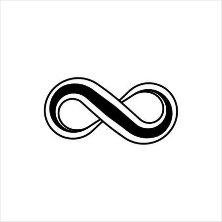 Infinity Sign Design Vector Art Illustration