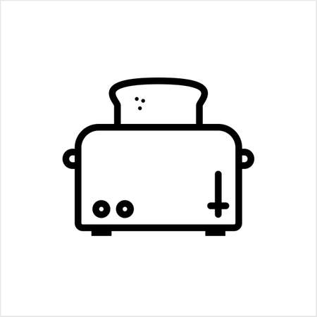 Toaster Icon, Toaster Vector Art Illustration