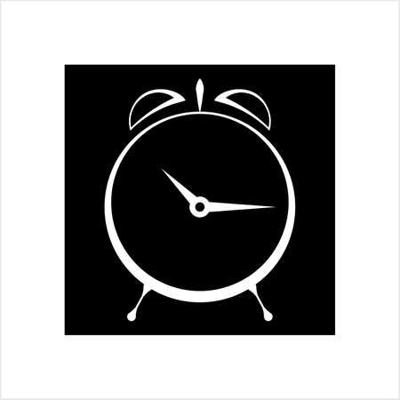 Alarm Clock Icon Vector Art Illustration