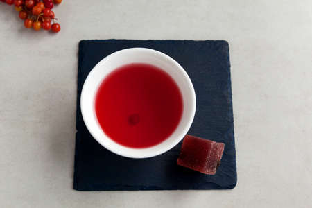 Schizandra tea is a traditional Korean drink. It is brewed from Chinese schisandra berries used in herbal medicine. They are astringent and sedative and have many other health benefits.