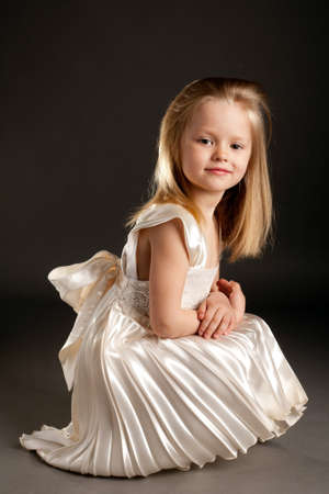 model nice: little beautiful girl