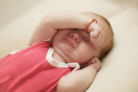 cute newborn baby sleeping Stock Photo - 22470134
