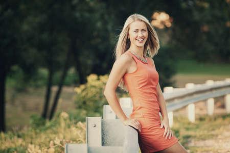 beautiful blond girl sensual portrait Stock Photo - 22808547