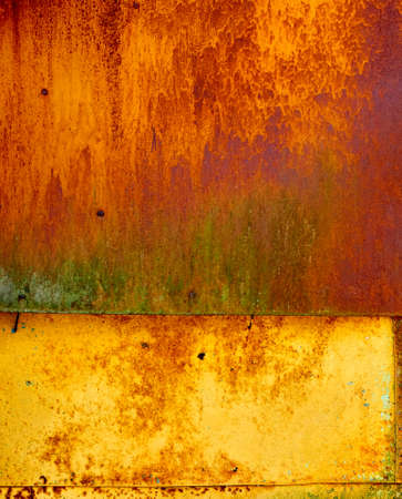 ugliness: photo of old metal surface with rust