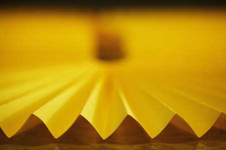 yellow car: photo of yellow car filter close up