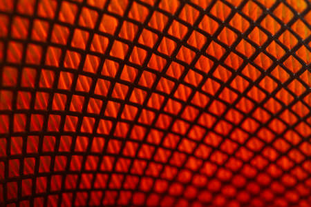 rubber gasket: macro close up photo of car filter Stock Photo
