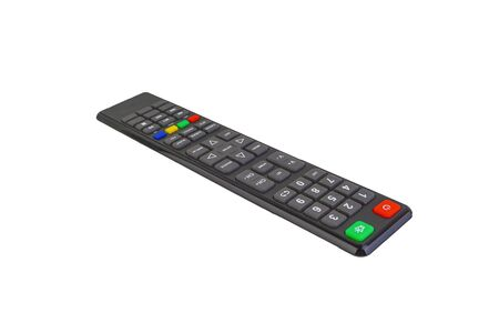 Remote control isolate on white background