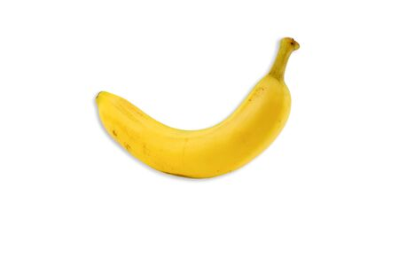 Banana isolated on white background 写真素材