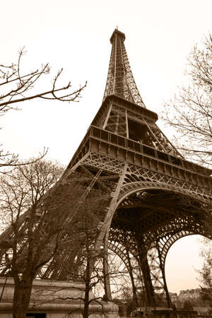 Eiffel Tower, the most popular attraction in Paris photo