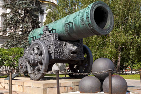 The Tsar Cannon of the Moscow Kremlin, Russia  photo