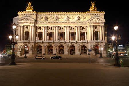 Facciata di The Opera o Palazzo Garnier. Parigi Archivio Fotografico - 22180859