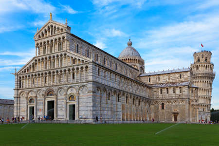 Cathedral with Leaning Tower in the background