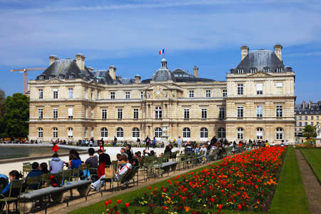 Luxembourg Palace, which is the seat of French senate  Paris  France