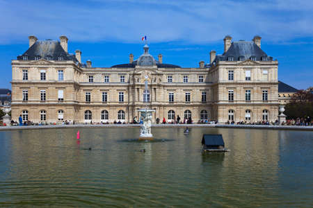 Luxembourg Palace, which is the seat of French senate. Paris. France. Stock Photo - 22265729