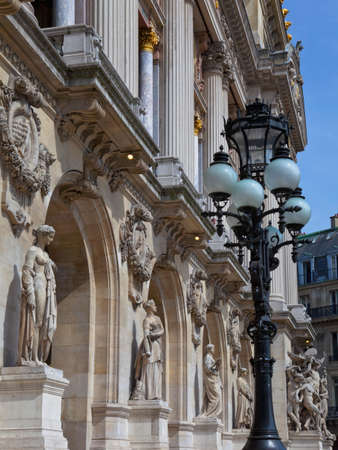 Facade of The Opera or Palace Garnier. Paris, France.  Stock Photo - 22294610