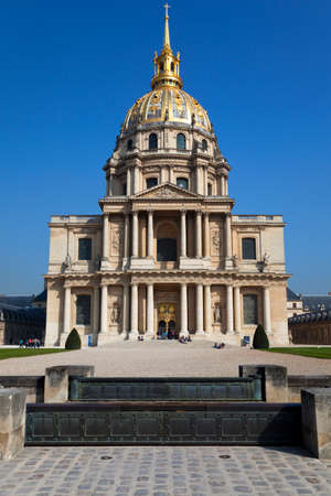 The Cathedral of Invalides. Paris, France.