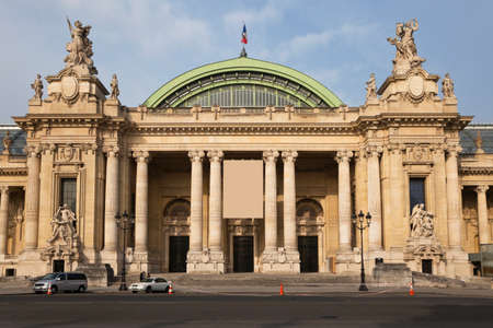 Grand Palais (Grand Palace) in Paris, France. Editorial