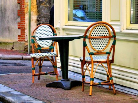 chairs and table photo
