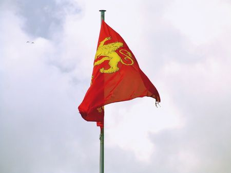 Normandy flag photo