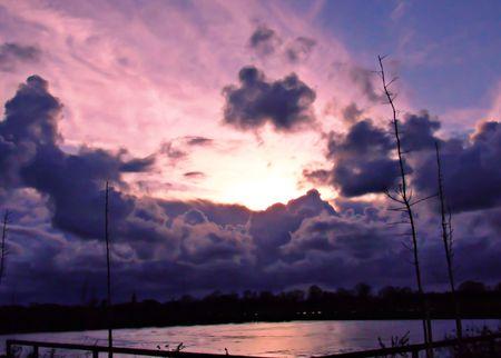 omaha: sunrise in omaha beach