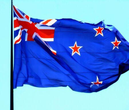Flag of New Zealand photo