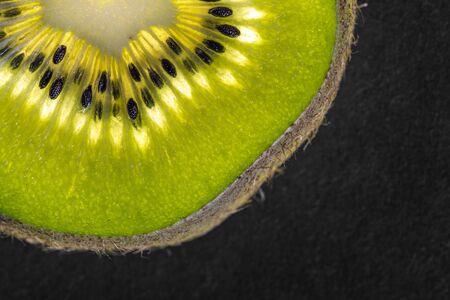 kiwi fruta: Detalle de kiwi como media