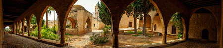 xv century: Greek orthodox monastery in Agia Napa, Cyprus, built in XV century