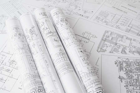 roll of paper electrical engineering drawings