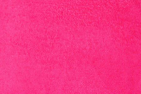 pink microfiber cloths texture close up