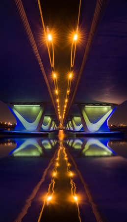 refelction: The Gharoud Bridge
