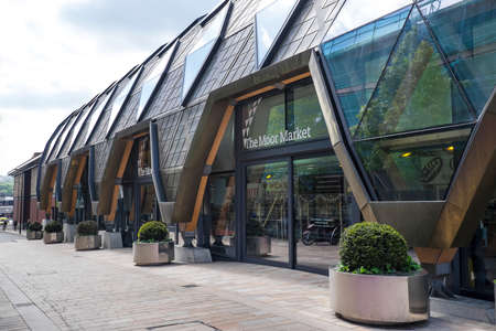 regeneration: Sheffield Moor market contemporary architecture for urban regeneration