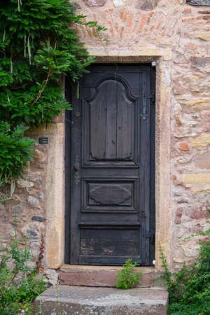 doorway: Doorway to old house Stock Photo