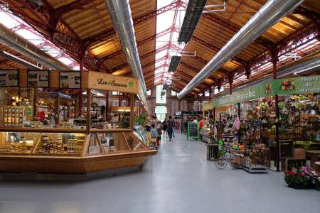 market hall: Colmar Market hall Alsace