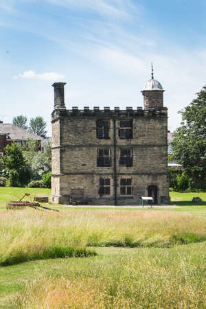 sheffield: Tower at Sheffield Manor Park, location of Mary Queen of Scots