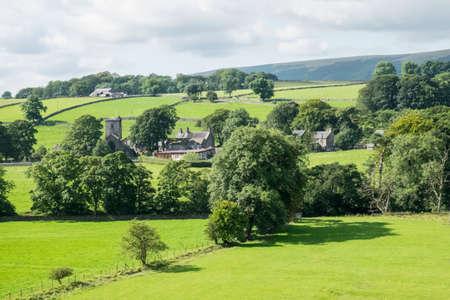 lancashire: Slaidburn village in the Hodder Valley, Lancashire