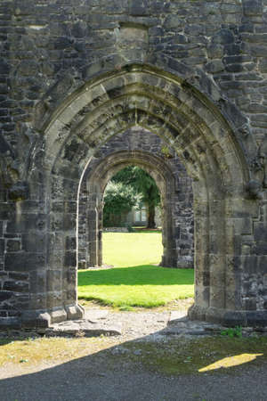 doorways: Ancient arch doorways at Whalley Abbey