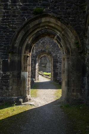 doorways: Arch doorways at Whalley Abbey