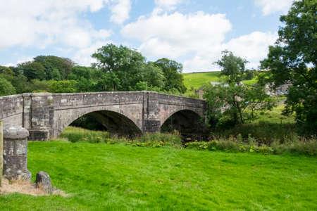 lancashire: Bridge over River Hodder at Slaidburn, Lancashire