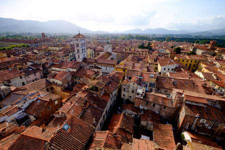 lucca: Lucca cityscape